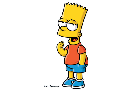 bart simpson 8 - bostezando