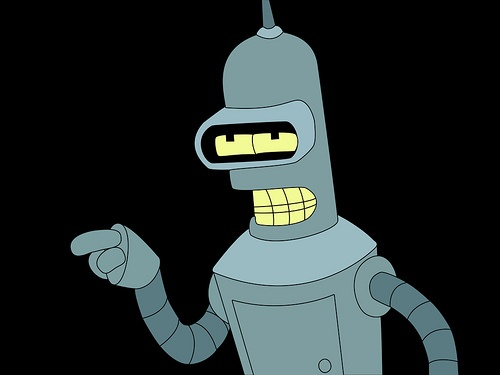 bender futurama 7 - desconfiado