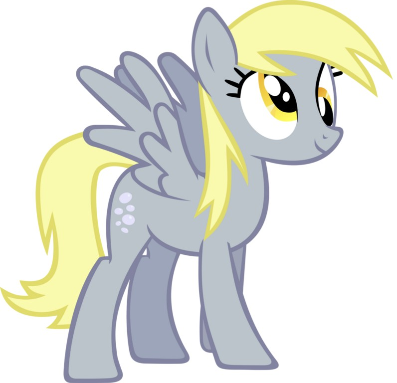 my little pony 10 - personajes derpy hooves