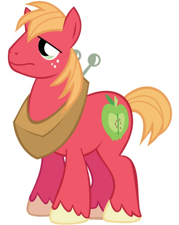 my little pony 12 - personajes big macintosh