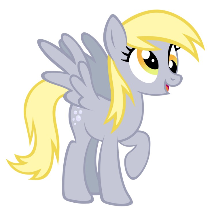 my little pony 13 - personajes derpy hooves
