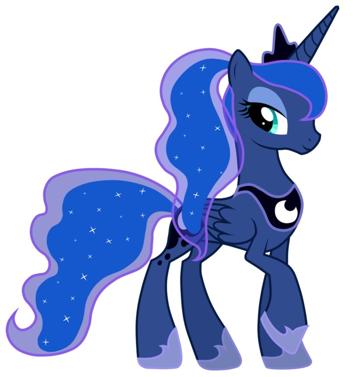 my little pony 15 - personajes princesa luna