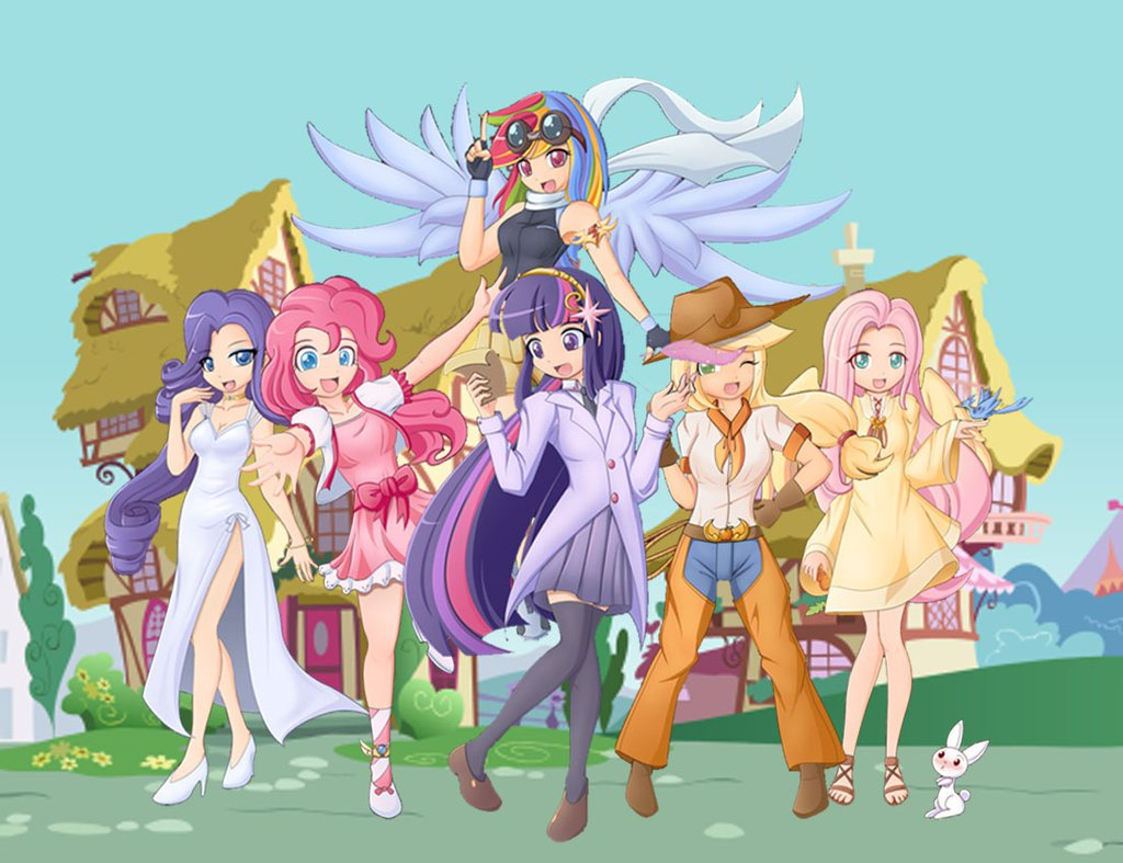 my little pony 5 humanas
