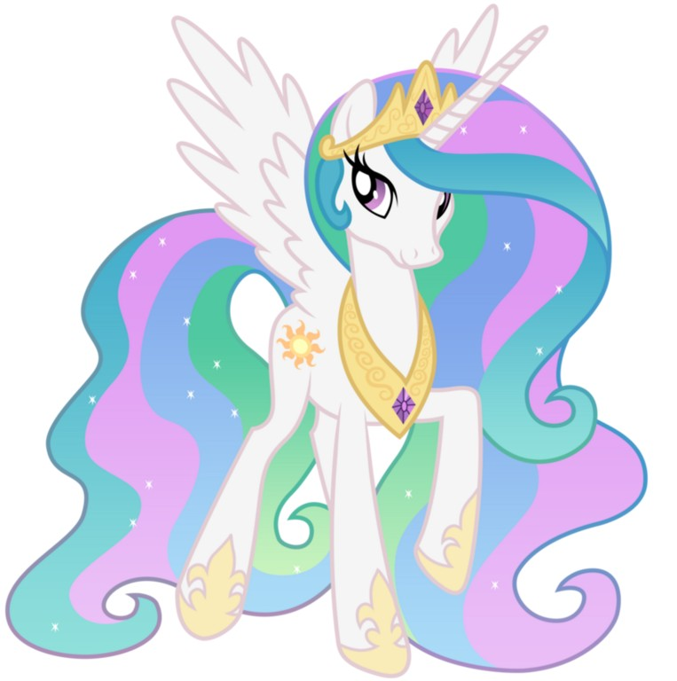 my little pony 9 - personajes princesa celestia