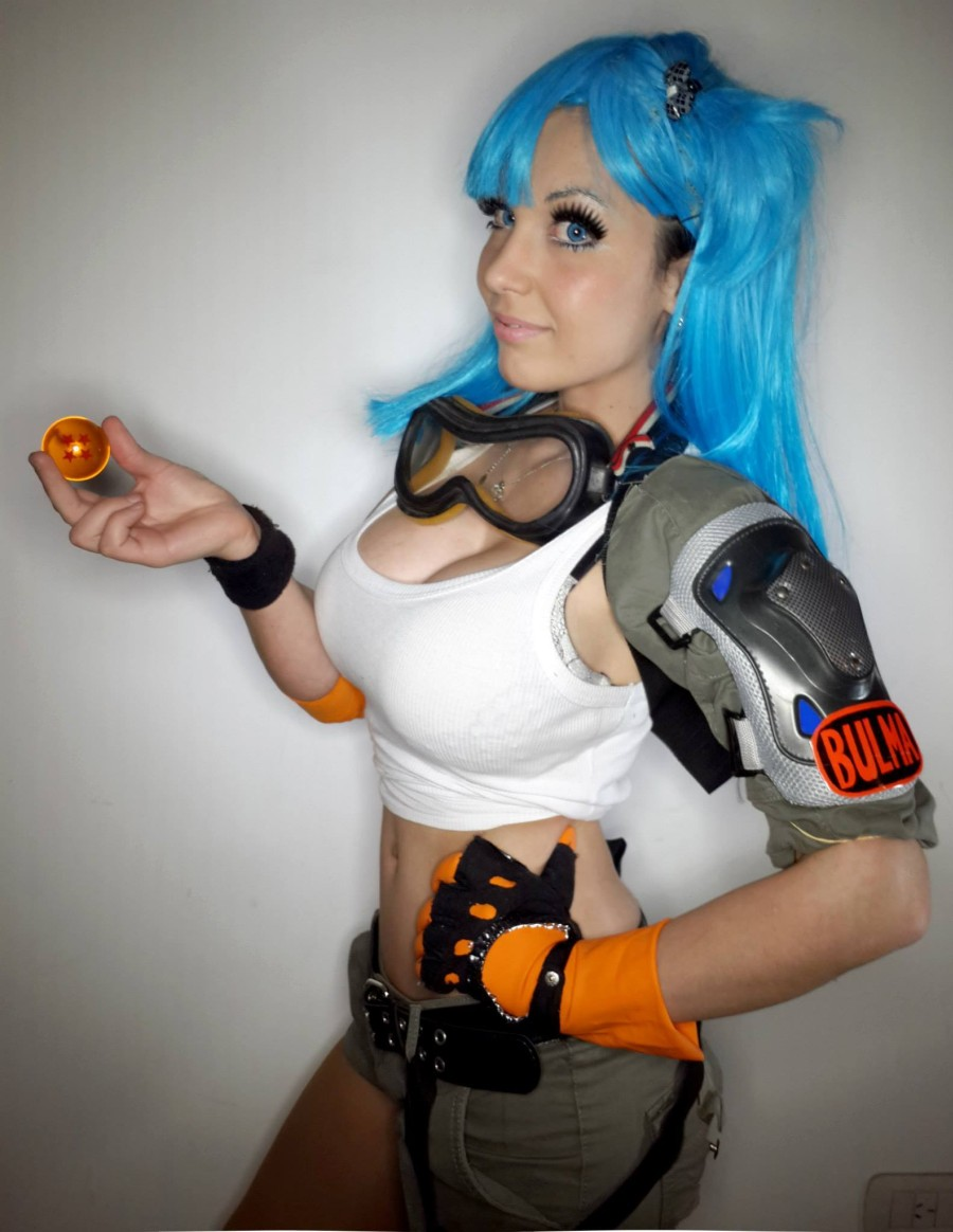 cosplay bulma bola de dragon