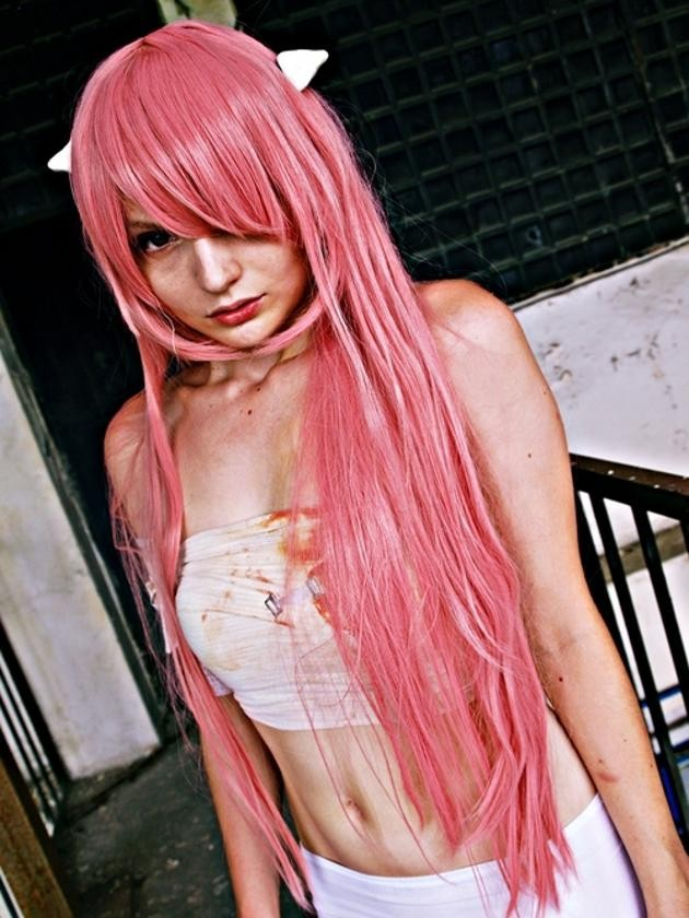 cosplay lucy (elfen lied)